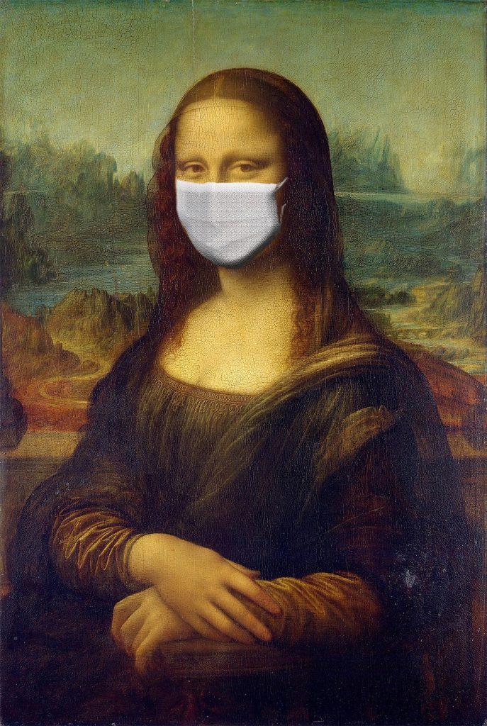 Covid-1984 Mona Lisa
