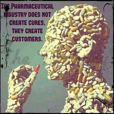 Big pharma does not create cures