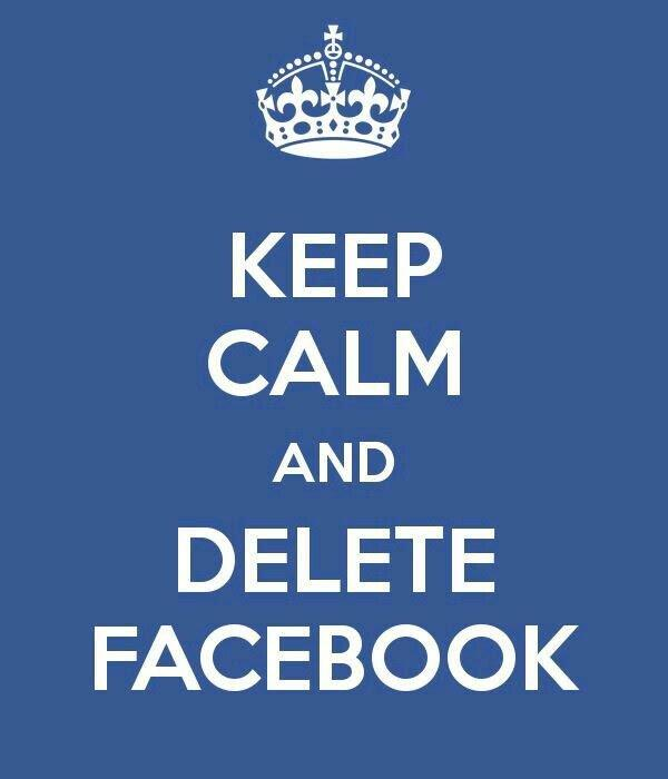 Keep calm and delete...