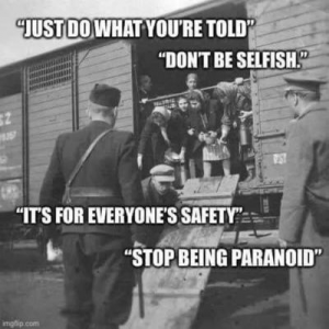 Just do what you are told - do not be selfish