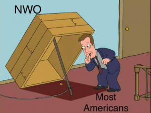 NWO versus most Americans (people world wide) right now