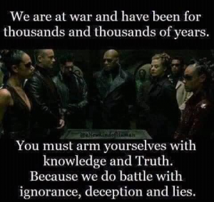 We are at war (right now a digital war)