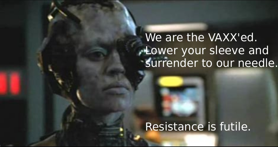 We are the vaxxed